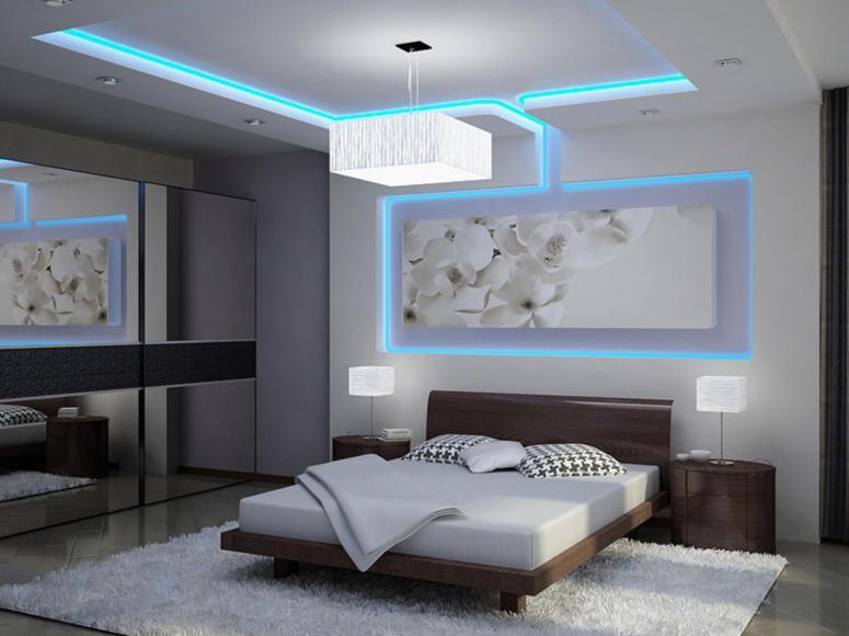 Bedroom Interior_LED Designs for Bedroom_Best LED Decoration for Bedroom_LED Lights for Bedroom_LED Strip Lights for Bedrooms_Best Interior in Electronic City Bangalore_Interior Era