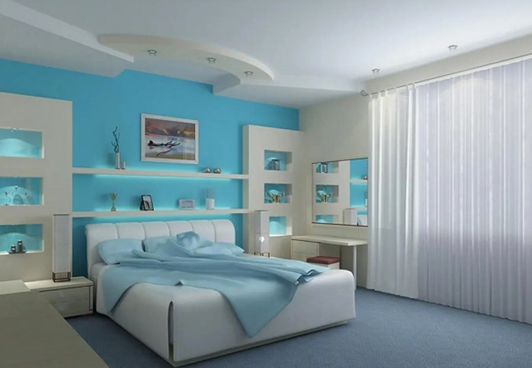 Bedroom Interior_Shelves for Bedroom_Shelf Ideas for Bedroom_Stylish Shelves for Master Bedroom Ideas_Best Interiors in Electronic City_Best Interiors_Good Interiors Near Me