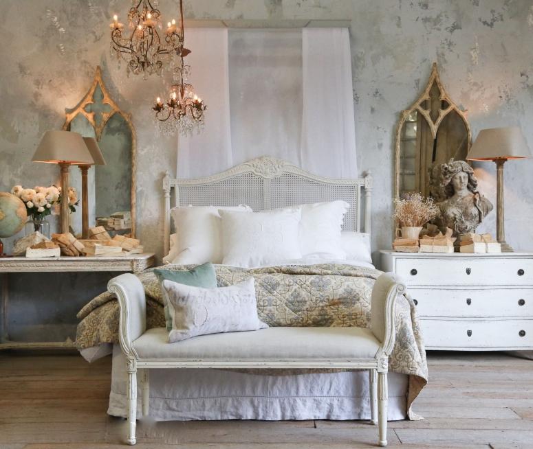 Bedroom Interior_Vintage Chair Design for Bedroom_Classical Chair Design Ideas for Bedroom_Chair Designs for Bedroom_Electronic City Interior Design