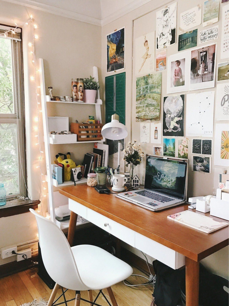 Home Office Interiors_Home Office Inspiration_Home Office Desk Decor Ideas_Home Office Wall Hangings_Beat Interiors in Electronic City Bangalore