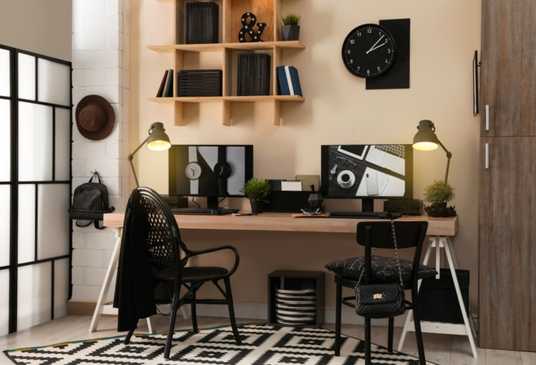 Home Office Interiors_Home Office Interior Design and Decoration_Home Office Interiors Near Me_Best Home Office Interior Design_Best Interiors in Electronic City Bangalore