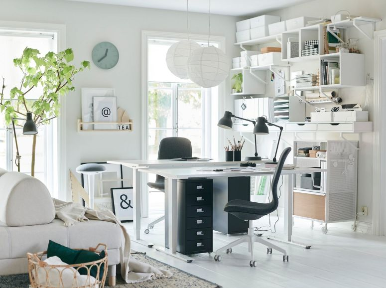 Home Office Interiors_Home Office Storage Solutions_Cheap and Best interior in Electronic City Bangalore_Good Interior Decorators in Electronic City Bangalore_Low Budget Interiors