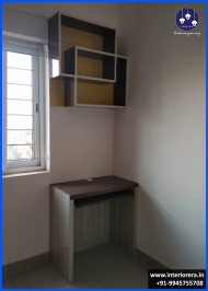 Study Unit with Book Case